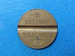 1978 ITALIA TOKEN GETTONE TELEFONICO SIP USATO 7809 - Altri