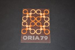 Mini Calendrier 1979 Bijoux ORIA - Calendriers