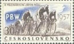 USED STAMPS Czechoslovakia - Sports Events Of -1957 - Czechoslovakia