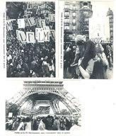 PARIS - 3 CP - 6/10/79 -Manifestation Pour L' Avortement Libre Et Gratuit . Tirage Limité (111868) - Ohne Zuordnung