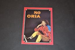 Mini Calendrier 1980 Bijoux ORIA Bijouterie BOBIN - Calendriers