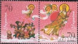 Ukraine 821-822 Couple (complète.Edition.) Neuf Avec Gomme Originale 2006 Saint Nicolas - Oekraïne