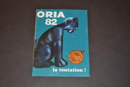 Mini Calendrier 1982 Bijoux ORIA - Calendriers