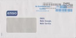 Moderne Privatpost Post Modern Dresden, Bedarfsbrief Übergabe An THPS Erfurt - Privados & Locales