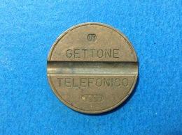 1978 ITALIA TOKEN GETTONE TELEFONICO SIP USATO 7807 - Altri