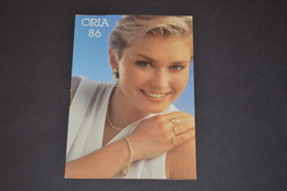 Mini Calendrier 1986 Bijoux ORIA - Calendriers