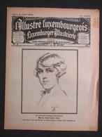 LUXEMBOURG - LUXEMBURGENSIA, L'Illustré Luxembourgeois, 1927 - 4ème Année N°3 - M.-H. STEIL - PARIS-TANARIVE HYDRAVION - Livres, BD, Revues