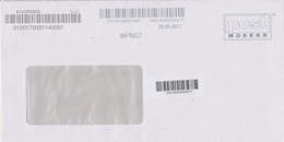 Moderne Privatpost Post Modern Dresden, Bedarfsbrief Übergabe An Safe-Mail Hermsdorf - Privados & Locales