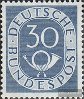 FRD (FR.Germany) 132 Unmounted Mint / Never Hinged 1951 Horn - [7] Federal Republic