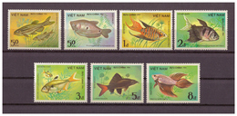 Vietnam, Fische | Fish MiNr. 1453 - 1459, 1984** MNH - Vietnam