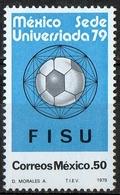 Messico Mexico 1979 - Giochi Universitari Mondiali University World Games 1979 Calcio Football Soccer MNH ** - Calcio