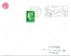 DROME - Dépt N° 26 = DIEULEFIT 1970 = FLAMME Codée à DROITE = SECAP Illustrée D'une POTERIE ' STATION TOURISTIQUE ' - Postmark Collection (Covers)