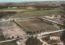 CPSM 62 MONTCHANIN LES MINES  VUE AERIENNE STADE DE RUGBY ET FOOTBALL - Frankreich