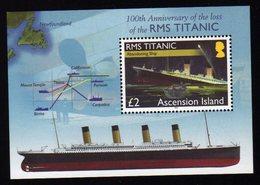 Titanic Ascension  S/Sheet Mnh - Schiffe