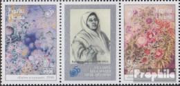 Ukraine 293-294 Dreierstreifen (kompl.Ausg.) Postfrisch 1998 Menschenrechte - Ukraine