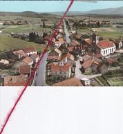 CP 70  -  SAINT GERMAIN    -   Vue Aérienne Sur Le Centre, L'église Et La Route De Melisey - France