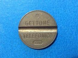 1977 ITALIA TOKEN GETTONE TELEFONICO SIP USATO 7710 - Italia