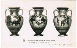Brussel, Bruxelles, Koninklijke Musea Voor Kunst En Geschiedenis, Zwart Figurige Attische Amforen (pk55497) - Musées