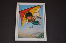 Mini Calendrier 1986 Dessin Michel Thomas Deltaplane - Calendriers