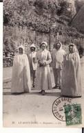 CPA 63 -- LE MONT DORE -- Baigneurs En 1913 - Le Mont Dore