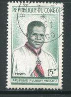 CONGO- Y&T N°137- Oblitéré - Congo - Brazzaville