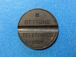1977 ITALIA TOKEN GETTONE TELEFONICO SIP USATO 7707 - Italia