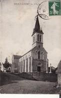 CPA 71 -- DRACY LE FORT -- L' Eglise En 1912 - Autres Communes