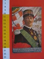 CA.15 ITALIA CARD - 1917 LIBIA OMAGGIO ITALIANI AL RE POESIA CARDUCCI VITTORIO EMANUELE III SAVOIA BERSAGLIERI - Case Reali