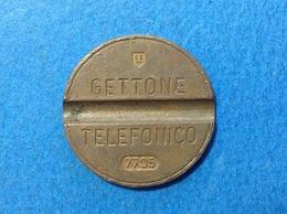 1977 ITALIA TOKEN GETTONE TELEFONICO SIP USATO 7705 - Italia