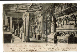 CPA - Carte Postale -Royaume Uni- London - Crrystal Palace- The Mediaeval Court VM1378 - Other