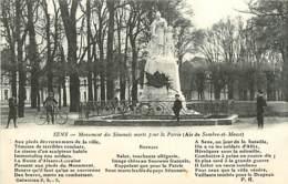 89 SENS - SENOMAIS MORTS POUR LA PATRIE - Sens