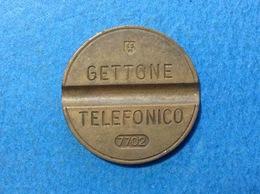 1977 ITALIA TOKEN GETTONE TELEFONICO SIP USATO 7702 - Italia