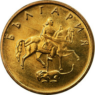 Monnaie, Bulgarie, 5 Stotinki, 2000, SPL, Brass Plated Steel, KM:239a - Bulgarie