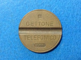 1977 ITALIA TOKEN GETTONE TELEFONICO SIP USATO 7701 - Italia