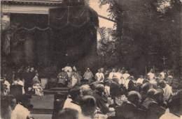 Koekelberg 29 Juin 1919 Cérémonie De Reconnaissance Nationale Envers Le S.Coeur. Le Salut. Pendant Lesermon Flamand. - Koekelberg