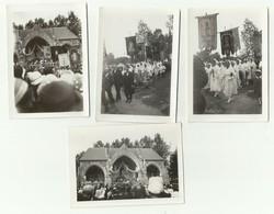 BRETAGNE FINISTÈRE PARDON DU FOLGOET 8 SEPTEMBRE 1934 LOT DE 4 PHOTOS ORIGINALES     Pa1 - Foto