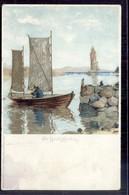 Noorwegen Norway Norge - Larvik - Fra Fjorden - 1900 - Noorwegen