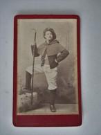 Cdv Du Chasseur Charles LEBOURG - Photographie A. TESTA Albertville Savoie - TBE - Albertville