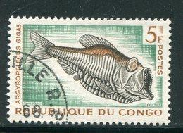 CONGO- Y&T N°146- Oblitéré (poissons) - Congo - Brazzaville