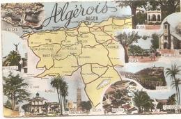 Carte Geographique - Algérie