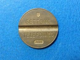 1976 ITALIA TOKEN GETTONE TELEFONICO SIP USATO 7611 - Altri