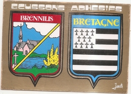 Brennilis Ecussons De Bretagne - France