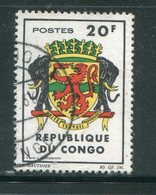 CONGO- Y&T N°180- Oblitéré (armoiries) - Congo - Brazzaville