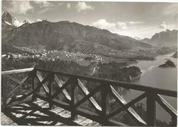 W1878 Calalzo Di Cadore (Belluno) - Panorama Col Lago Cadore E Le Marmarole / Viaggiata 1962 - Italia