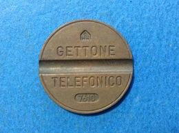 1976 ITALIA TOKEN GETTONE TELEFONICO SIP USATO 7610 - Altri