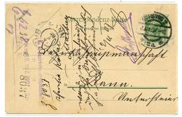 Austria Postal Stationery Postcard Travelled 1907 Marburg 2 To Rann Brežice B190310 - Slowenien