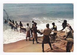Afrique République Togolaise Pêche Traditionnelle Pêcheurs Filets Sud Togo édit Office Tourisme - Togo