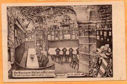 Nurnberg Nassauer Keller Gerrmany 1920 Postcard - Nuernberg