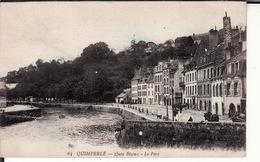 CPA 29 -- QUIMPERLE -- Quai Bizeux -- Le Port - Quimperlé
