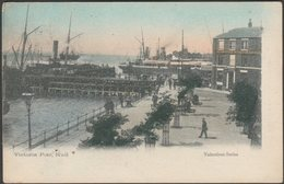 Victoria Pier, Hull, Yorkshire, 1904 - Valentine's Postcard - Hull